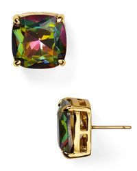 Kate Spade | Multicolor Small Square Stud Earrings | Lyst