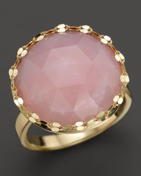 Lana Jewelry | Metallic Pink Opal Blush Ring | Lyst