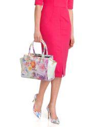 Ted Baker Multicolor Floral Tote Bag