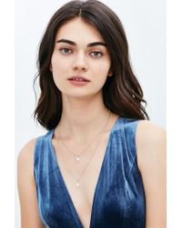 Urban Outfitters - Metallic Mystic Layering Necklace - Lyst