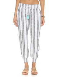 Cool Change | Gray Gypset Stripe Pants | Lyst
