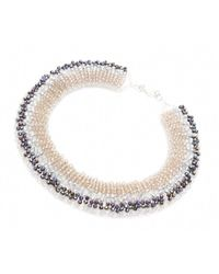 Nakamol | Multicolor Secretorial Necklace-grey | Lyst