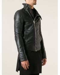 Rick Owens - Black Leather Jacket for Men - Lyst