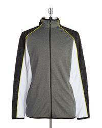 Calvin Klein | White Track Jacket for Men | Lyst