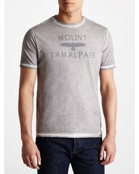 Dockers - Gray Ocean Wash Graphic Print Tshirt for Men - Lyst