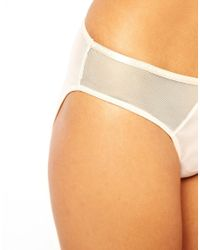 Cheap Monday - Natural Mesh Brief - Lyst