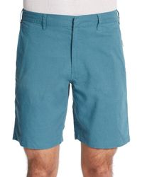 Onia - Blue Abe Linen/Cotton Shorts for Men - Lyst