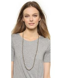 House of Harlow 1960 - Natural Symbols And Signs Bead Necklace - Gold Multi - Lyst
