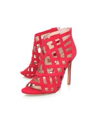 Vince Camuto | Red Tatianna High Heel Shoe Boots | Lyst