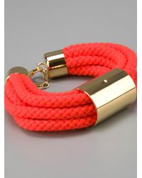 Sabrina Dehoff - Red Cord Bracelet - Lyst