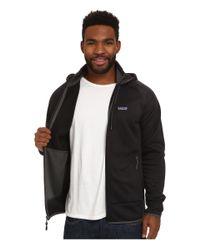Patagonia - Black Tech Fleece Hoodie for Men - Lyst