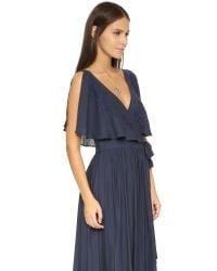 Free People Blue Fiona's Sleeveless Maxi Dress