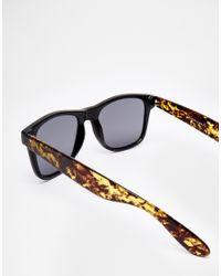 ToyShades | Milly Sunglasses - Black/sandstone/gr | Lyst