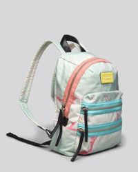 Marc By Marc Jacobs Blue Backpack - Domo Arigato Mini Packrat