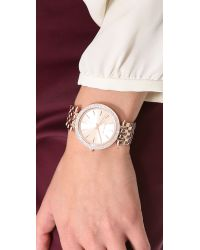 Michael Kors Pink Darci Watch