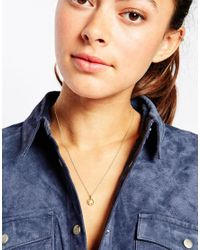 Dogeared | Metallic Gold Plated The Scene Stealer Glowing Star Reminder Necklace | Lyst