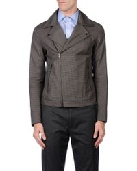 Mauro Grifoni - Brown Jacket for Men - Lyst