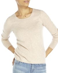 In Cashmere | Natural Petite Knit Sweater | Lyst