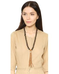 Jonesy Wood - Brown Scout Necklace - Lyst