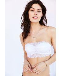 Cosabella | White Thea Bandeau Bra | Lyst