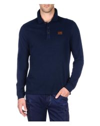Napapijri | Blue Polo Shirt for Men | Lyst