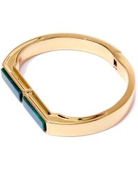 George Frost | Metallic Gold-plated Portal Justice Cuff Bracelet | Lyst