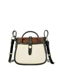 Dooney & Bourke Brown Verona Christina Leather Crossbody Bag