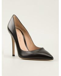 Gianvito Rossi Black Gianvito Pumps