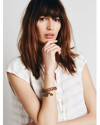Free People | Natural Mantra Beaded Bracelets | Lyst