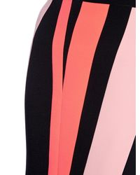 ROKSANDA Black Kepple Colour-block Pencil Skirt