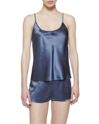 La Perla | Blue Top | Lyst