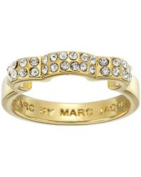 Marc By Marc Jacobs | Metallic Diamonds And Daisies Daisy Window Ring | Lyst
