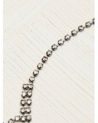 Free People | Natural Crystal Canyon Necklace | Lyst
