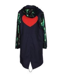 De'Hart - Blue Full-length Jacket - Lyst
