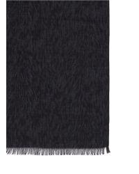 Lanvin - Multicolor Zebra Print Cotton-silk Scarf for Men - Lyst
