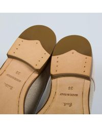 Paul Smith Natural Newlyn Leather Shoes