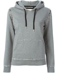 Filles A Papa | Gray 'shark' Sweatshirt | Lyst