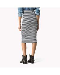 Tommy Hilfiger | Black Skirt | Lyst