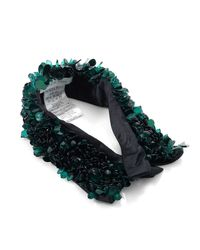 Patrizia Pepe | Green Costume Jewellery Collar Necklace With Sequins | Lyst