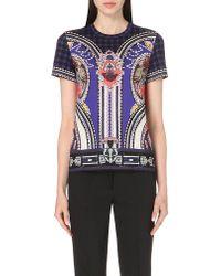 Mary Katrantzou - Blue Iven T-shirt Vice Sapphire - Lyst