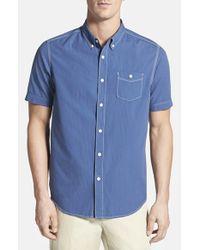 Tommy Bahama - Blue 'bueno Coast Cruiser' Island Modern Fit Dobby Camp Shirt for Men - Lyst