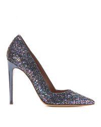 Tabitha Simmons | Blue Folly Glitter Pumps | Lyst