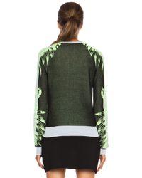 A.L.C. Green Sanborn Cotton Sweater