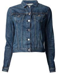 Rag & Bone - Blue 'the Jean Jacket' - Lyst