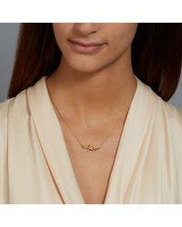 Alex Monroe Yellow Love Bird Necklace