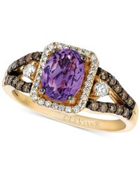Le Vian | Metallic Amethyst (1 Ct. T.w.) And Diamond (1/2 Ct. T.w.) Ring In 14k Gold | Lyst