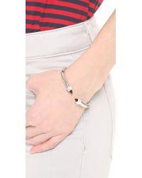 Vita Fede Black Mini Titan Stone Bracelet