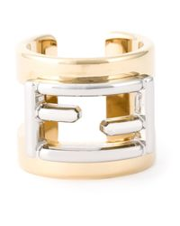 Fendi | Metallic 'the Sta' Ring | Lyst