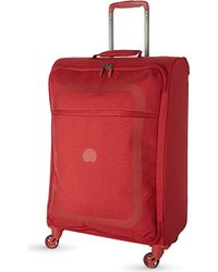 Delsey | Red Dauphine Four-wheeled Suitcase 66cm | Lyst