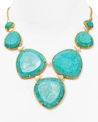 Kendra Scott | Blue Rebecca Necklace 16 | Lyst